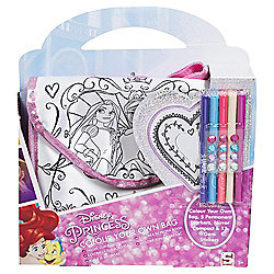 DISNEY PRINCESS COLOUR YOUR OWN BAG