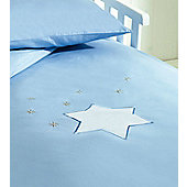 Saplings Twinkle Star Bedding- Blue - Blue
