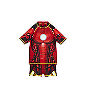 Marvel Avengers UPF 50+ Iron Man Sunsafe Surf Suit - Red