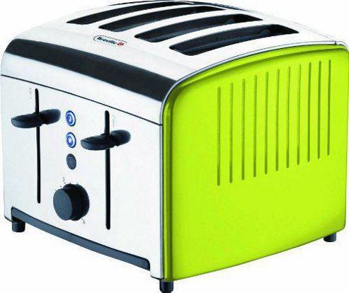 Breville VTT315 4-Slice Toaster - Lime Green
