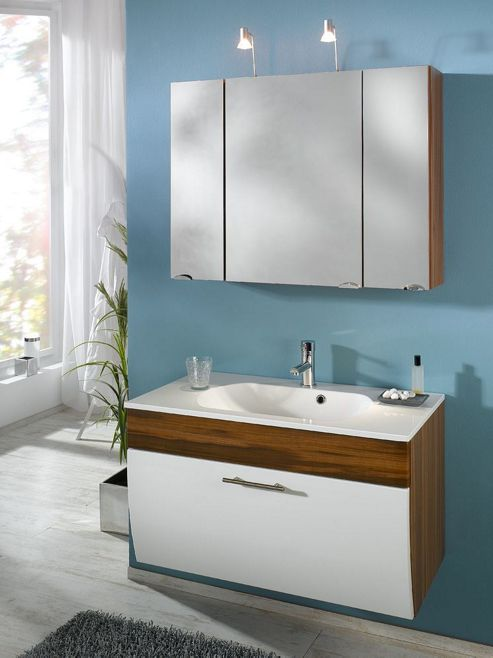 cabinet walnut effect from our bathroom wall cabinets range tesco