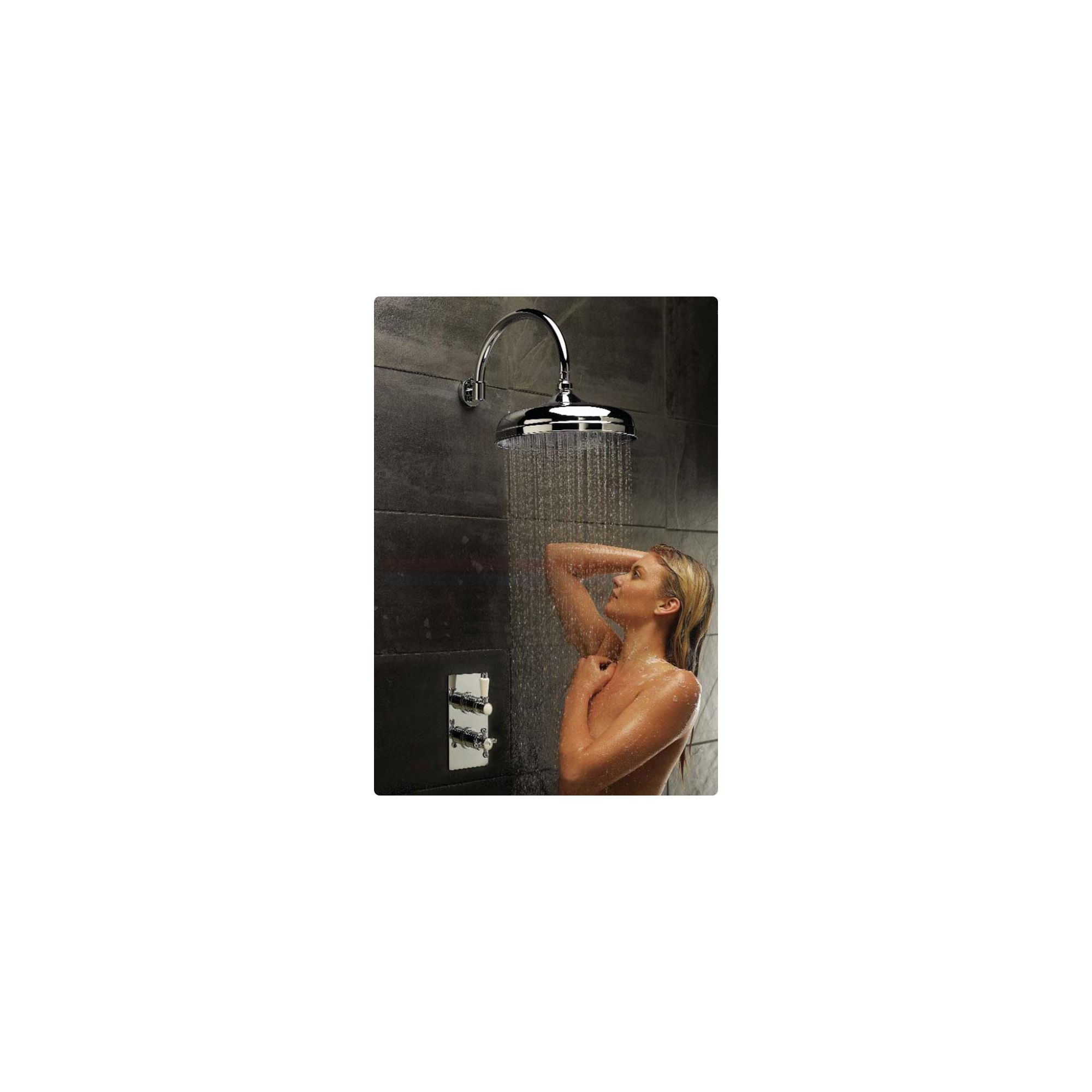 Hudson Reed Traditional Twin Complete Thermostatic Mixer Shower at Tesco Direct