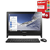 "Lenovo C20 19.5"" All-in-One PC With BullGuard Internet Security"