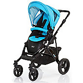 ABC Design Mamba Pushchair - Black & Coral