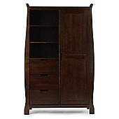 OBaby Lincoln Double Wardrobe (Dark)