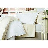 Belledorm 600TC Cotton Sateen, White - Continental Pillowcase (each)