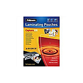 Fellowes Laminating Pouch A5 250micron Pack of 100 Capture 5307301