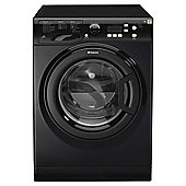 Hotpoint Extra WMXTF742K Washing Machine, 7Kg Wash Load, 1400 RPM Spin, A++ Energy Rating, Black