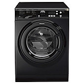 Hotpoint Extra Washing Machine, WMXTF 742K UK, 7KG load, with 1400 rpm - Black