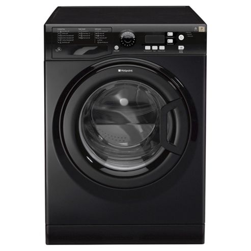 Hotpoint WMXTF742K Extra, Freestanding Washing Machine, 7Kg Wash Load, 1400 RPM Spin, A++ Energy Rating, Black