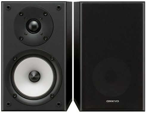 ONKYO D045 SPEAKERS (PAIR) (BLACK)