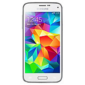 Tesco Mobile Samsung Galaxy S5 Mini Shimmery White