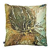 Artistic Britain Autumn Lotus Printed Cushion