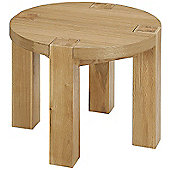 Solid Oak Coffee Table with oak veneer top