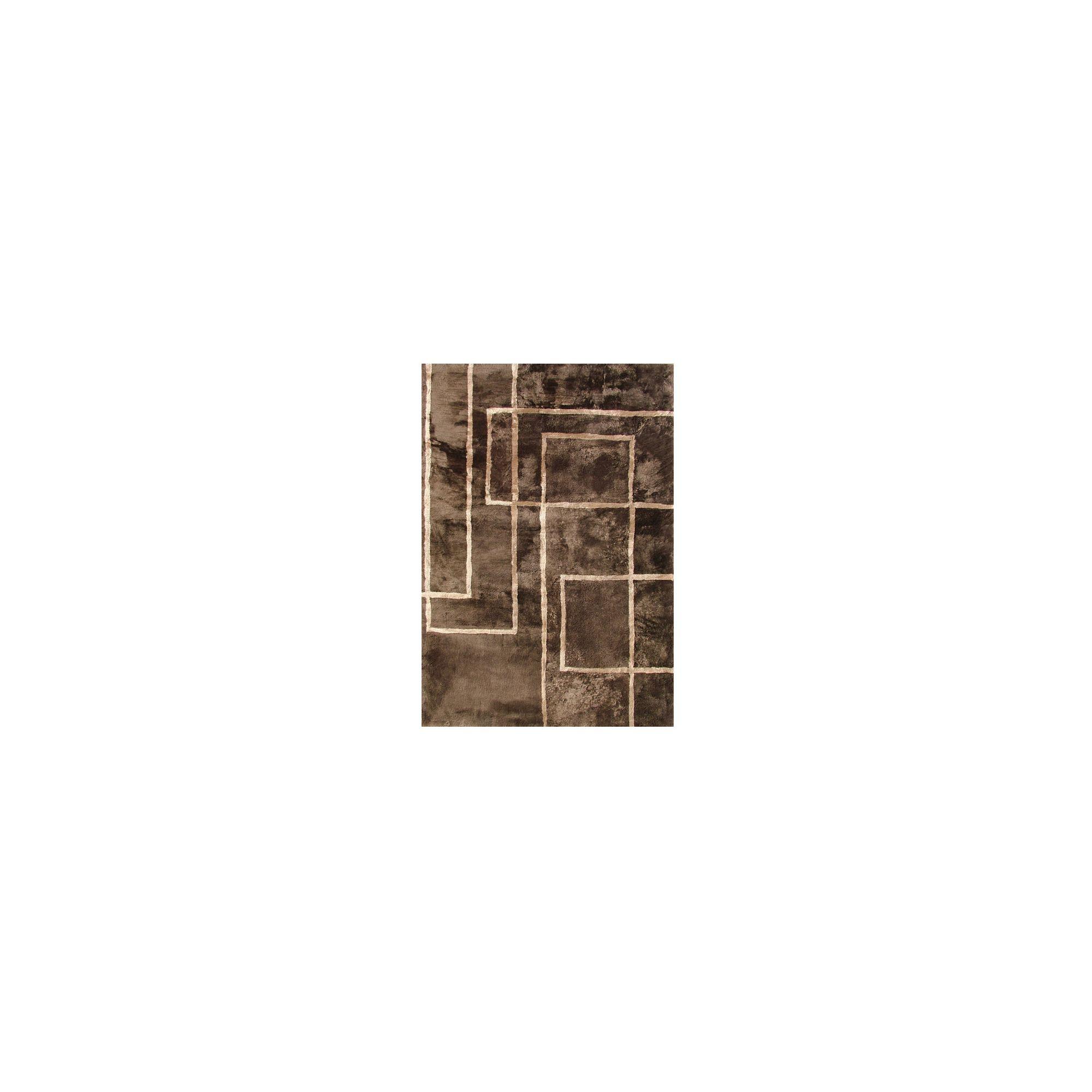 Bowron Sheepskin Shortwool Design Corners Rug - 350cm H x 250cm W x 1cm D at Tesco Direct