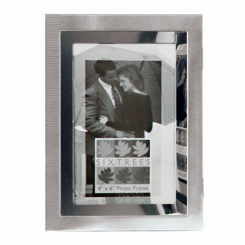 Sixtrees Culver Two Tone Photo Frame - 23.5cm H x 18cm W x 2.5cm D