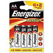 Energizer Ultra Plus AA 4+2 626067 Battery