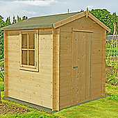 FINEWOOD DANBURY (19mm) 8' X 8' LOG CABIN