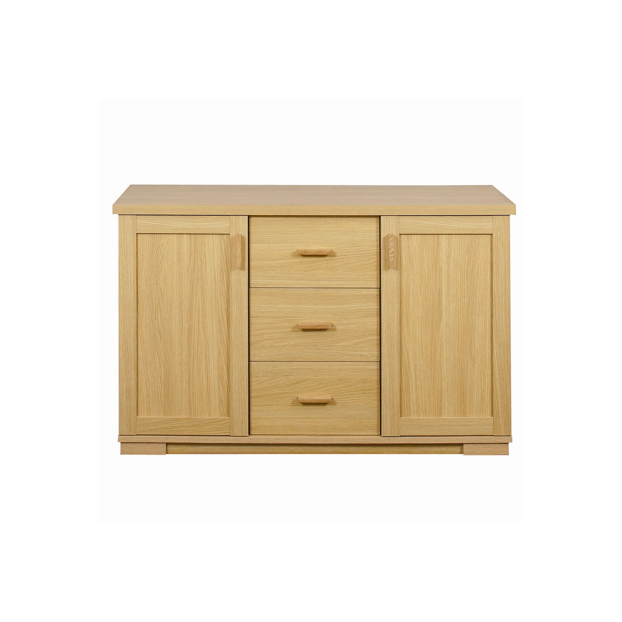 Caxton Huxley 2 Door / 3 Drawer Sideboard in Light Oak at Tesco Direct