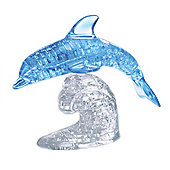 Dolphin 3D Jigsaw Puzzle (Blue)