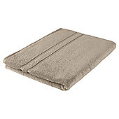 Tesco 100% Combed Cotton Bath Sheet Taupe