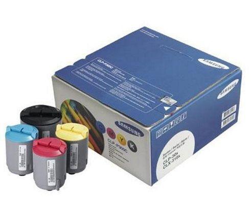 Samsung CLP-300 Rainbow Kit (Cyan, Magenta, Yellow and Black)