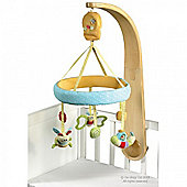 Little Bird Told Me Luxury Cot Mobile - Softly Snail