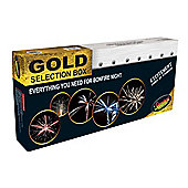 Gold Fireworks Selection Box