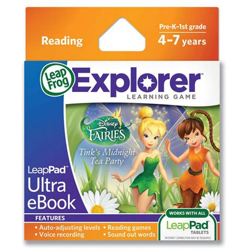 LeapFrog® LeapPad™ Ultra eBook : Disney Fairies Tink's Midnight Tea Party