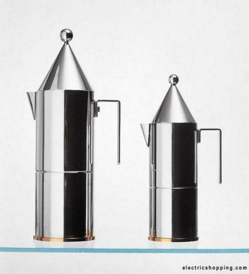 Alessi 90002/6 La Conica 6 Cup Espresso Coffee Maker