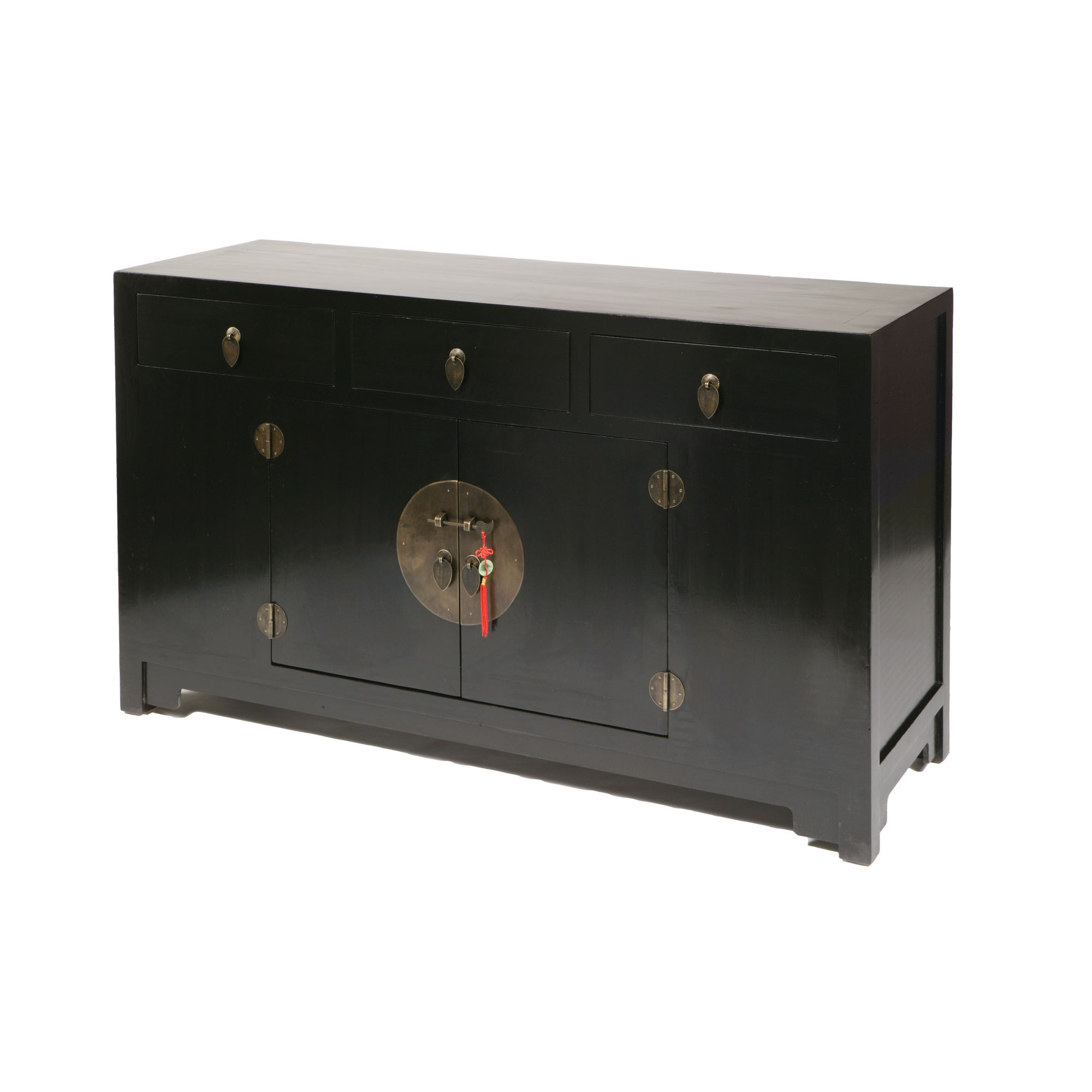 Shimu Chinese Classical Ming Sideboard - Black Lacquer at Tescos Direct