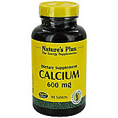 Natures Plus Calcium 600mg 90 Tablets