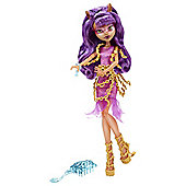 Monster High Haunted Getting Ghostly Clawdeen Doll