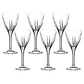RCR Fusion Crystal Wine Glasses, Set of 6