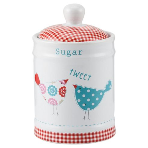 Tesco Tweet Sugar Canister