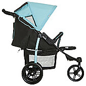 Hauck Viper SLX 3 Wheel Pushchair, Caviar & Capri