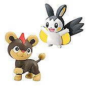 Pokemon XY Double Figure Pack - Litleo vs Emolga