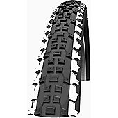 Schwalbe Racing Ralph Tyre: 26 x 2.25 White Stripes Folding. HS 391, 57-559, Evolution Line, TL Ready