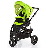 ABC Design Cobra 2 in 1 Pushchair (Black/Lime)