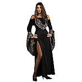 Rubies Fancy Dress Costume - Halloween Sensations Skull Dress - ADULT STANDARD