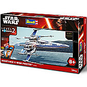 Revell Star Wars Resistance X-Wing Fighter Episode Vii Easykit - 06696