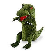 Fiesta Crafts 33cm Green Dinosaur Hand Puppet