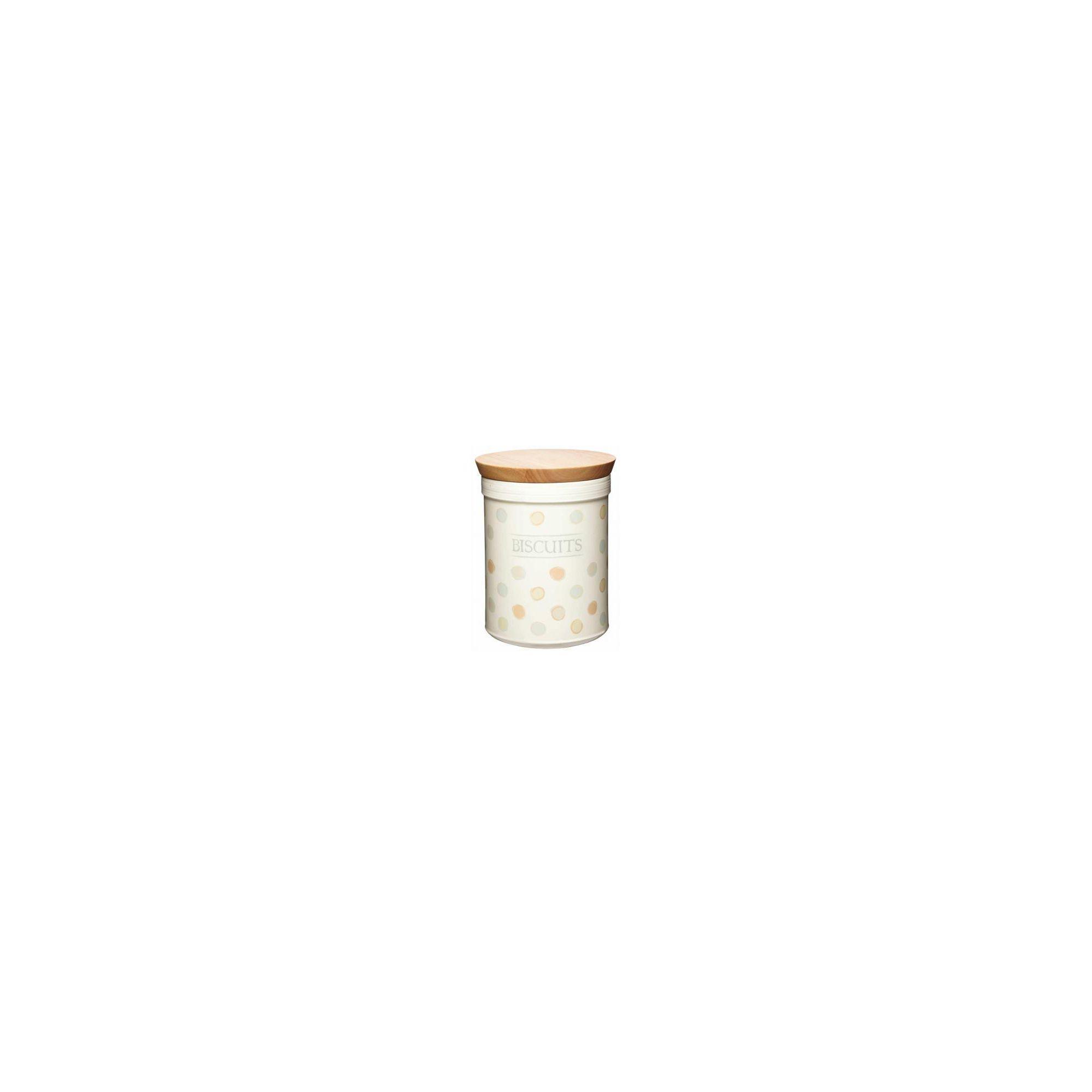 Kitchen Craft Ceramic Biscuit Storage Jar with Airtight Lid