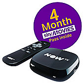 NOW TV HD Digital Media Streamer with Sky Movies 4 Month Pass