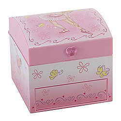 Ballerina Chest Jewel Box