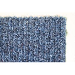 Dandy Stayfast Blue Runner Contemporary Rug - Runner 60cm x 180cm