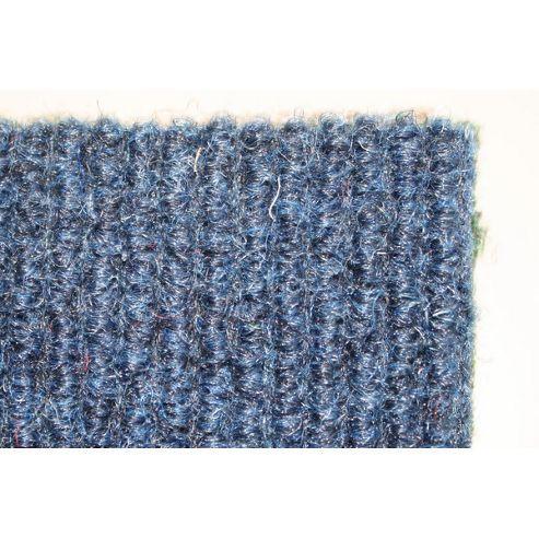 Dandy Stayfast Blue Runner Contemporary Rug - Runner 60cm x 180cm