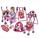 Minnie Mouse Play and Go Dolls Travel Set