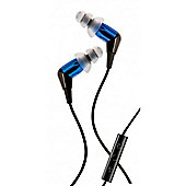 MC3 iPhone Earphones with Mic Blue