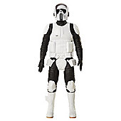 """Star Wars Scout Trooper 18"""" action figure"""